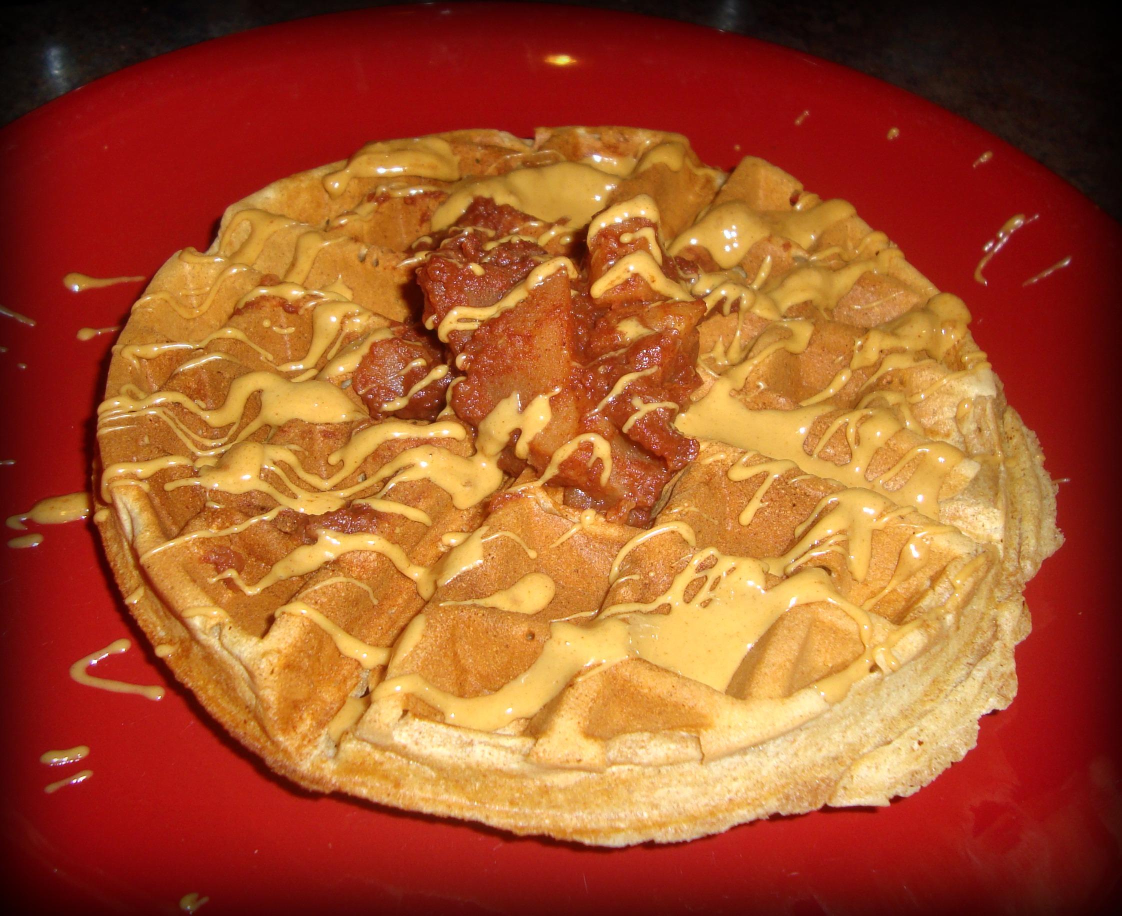 Tasty Tuesday: Whole Wheat Peanut Butter Waffles